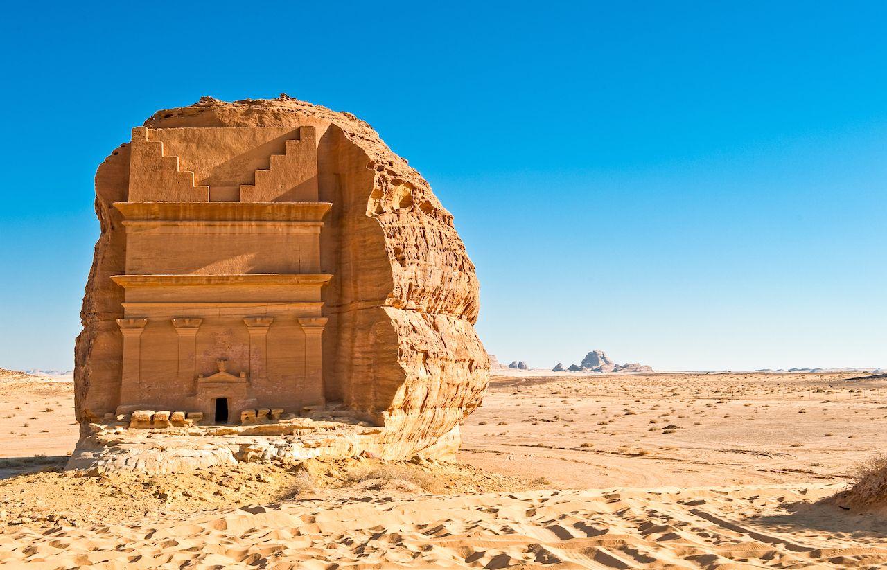 WINTER AT TANTORA: Venite a scoprire Madain Saleh, la Petra dell'Arabia Saudita